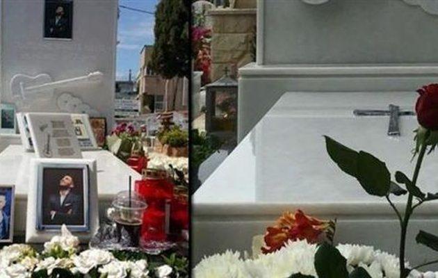 Άγνωστοι σύλησαν τον τάφο του Παντελή Παντελίδη