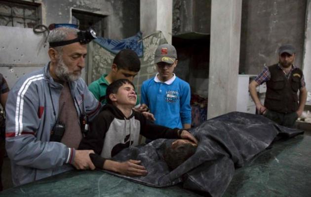 Γεωπολιτικό σκάκι πάνω από σωρούς πτωμάτων στη Συρία