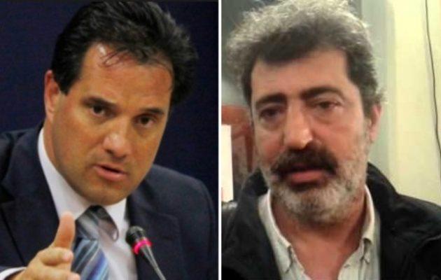 """Ψάχνεται για καβγά ο Άδωνις: Ο Πολάκης είναι """"κότα λειράτη""""!"""