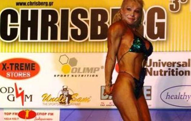 Eλληνίδα πρωταθλήτρια του bodybuilding πέθανε ενώ έτρωγε