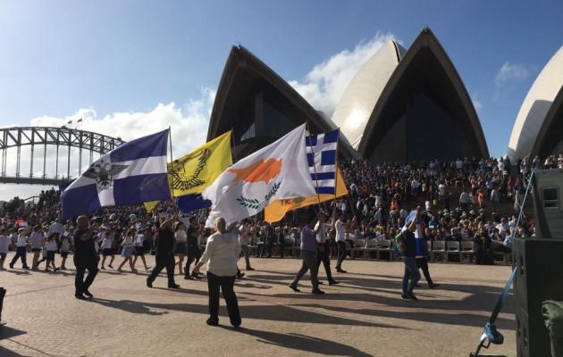 Δείτε τον εορτασμό της 25ης Μαρτίου στην Αυστραλία – Συγκίνηση και Ισχύς (βίντεο + φωτο)