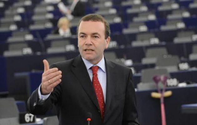 Βέμπερ: Η Ευρώπη θα σταθεί στο πλευρό της Ελλάδος