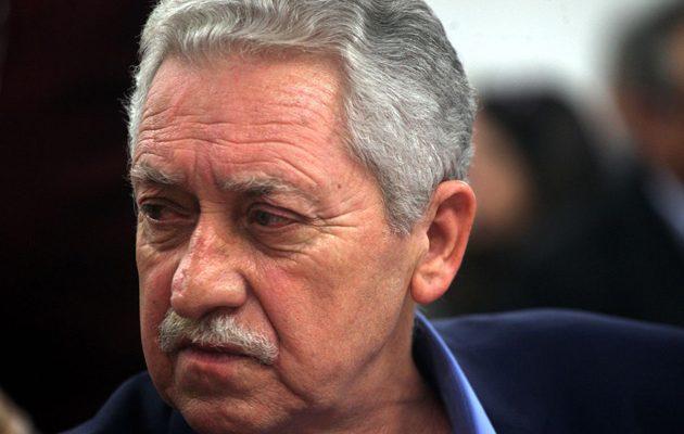 Φώτης Κουβέλης: «Αβάσιμα και εχθρικά» όσα λέει η Τουρκία για τη Συνθήκη της Λωζάνης