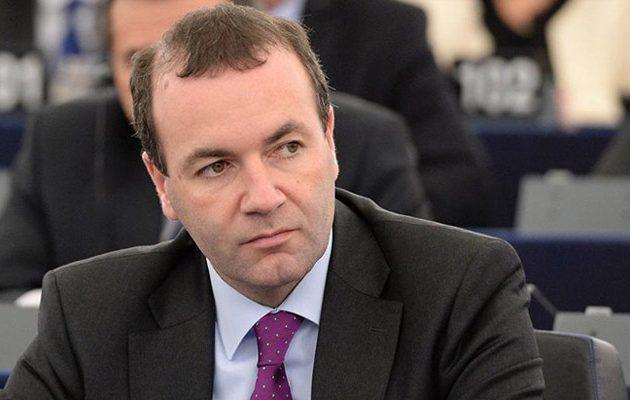 Βέμπερ: Δεν μπορεί να επιτρέπεται στην Τουρκία να παραβιάζει την κυριαρχία  κράτους μέλους της ΕΕ