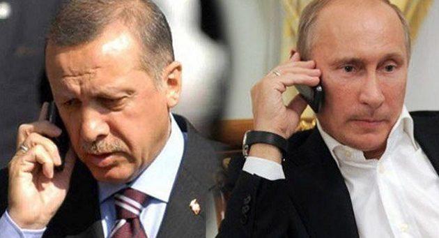 """Πούτιν-Ερντογάν μίλησαν στο τηλέφωνο: Είμαστε """"ικανοποιημένοι"""" από τη σύνοδο στο Σότσι για τη Συρία"""
