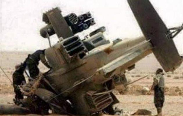 Καταρρίφθηκε ελικόπτερο Απάτσι της Σαουδικής Αραβίας στην Υεμένη