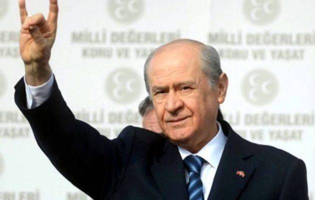 Πορεία στη Σμύρνη υπέρ της «ανεξαρτησίας των Δωδεκανήσων» διοργανώνει ο Γκρίζος Λύκος Μπαχτσελί
