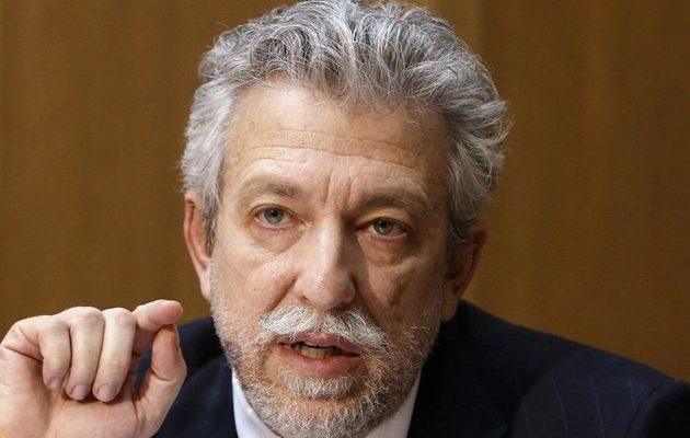 ΣΥΡΙΖΑ-ΠΣ σε Κοντονή: «Του ευχόμαστε καλή τύχη στα νέα του καθήκοντα ως αχθοφόρος πολιτικών και επιχειρηματικών συμφερόντων»