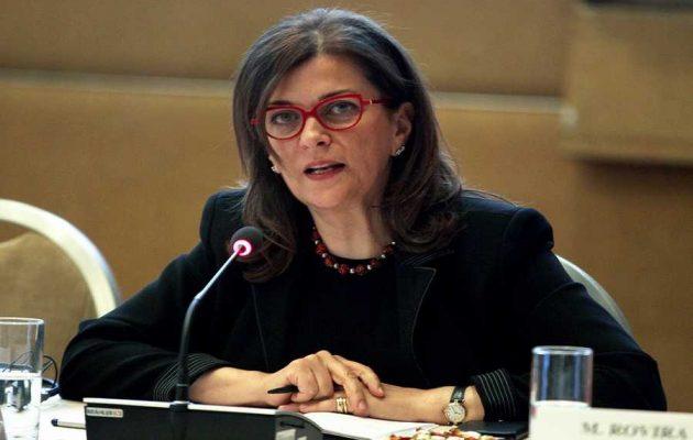 Αντωνοπούλου: Η ανεργία θα υποχωρήσει κάτω από το 20% το 2018