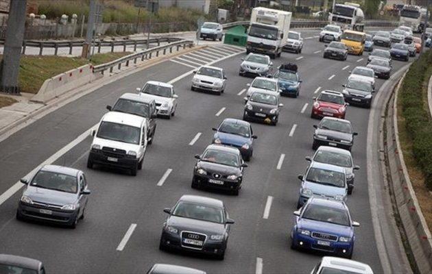 Μεγάλη κυκλοφοριακή συμφόρηση στην επιστροφή προς Αθήνα