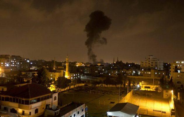 Οι Ισραηλινοί βομβάρδισαν στόχους ισλαμιστών τρομοκρατών στη Λωρίδα της Γάζας