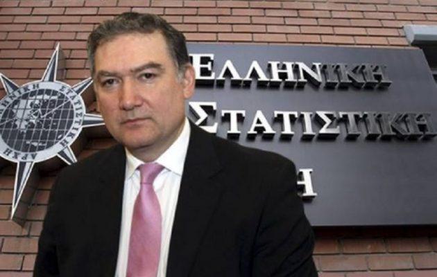 «Ζητάει και ρέστα» ο πρώην της ΕΛΣΤΑΤ Ανδρέας Γεωρίου – Αμφισβητεί τη Δικαιοσύνη