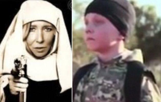 """Η «τεκνατζού τζιχαντίστρια"""" Σάλι Τζόουνς έκανε τον 13χρονο γιο της εκτελεστή του ISIS"""