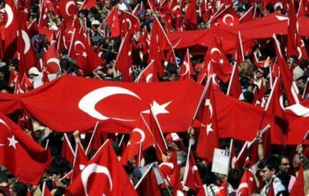 Δημοσκόπηση: Το 60% των Τούρκων δεν θέλει πόλεμο με την Ελλάδα