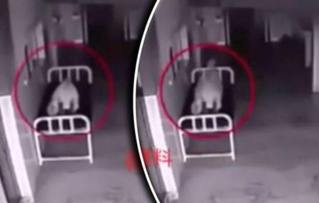 Δείτε σε βίντεο ψυχή να εγκαταλείπει το σώμα ασθενούς μόλις πέθανε
