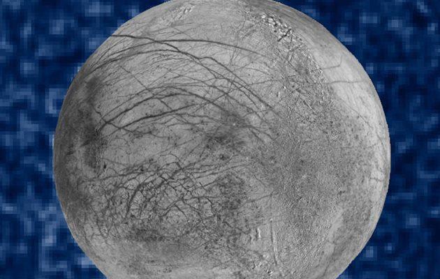NASA: Υπάρχει υπόγειος ωκεανός στο φεγγάρι του Δία «Ευρώπη»  (φωτο)