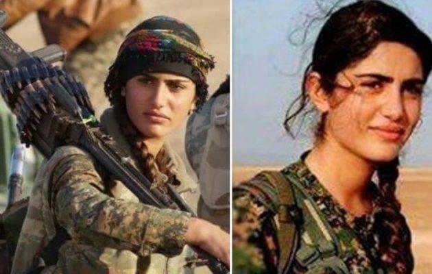 """Σκοτώθηκε πολεμώντας τους Τούρκους η """"Κούρδισα Αντζελίνα Τζολί"""""""