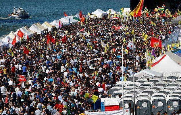 Χιλιάδες Κούρδοι διαδήλωσαν στην Κολωνία – Ηχηρό μήνυμα προς τον Ερντογάν (βίντεο)