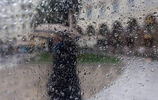 Έκτακτο δελτίο ΕΜΥ: Βροχές και χαλάζι το Σάββατο