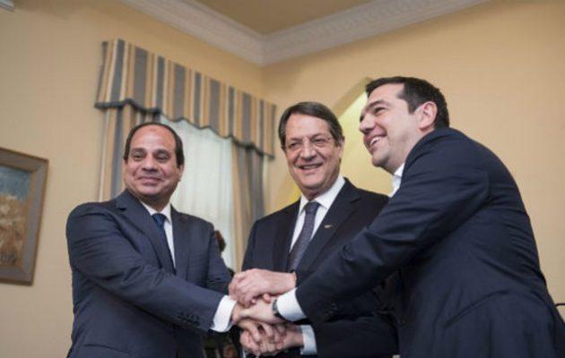 Η χαλύβδινη συμμαχία Ελλάδας, Αιγύπτου και Κύπρου συναντιέται τον Νοέμβριο στη Λευκωσία