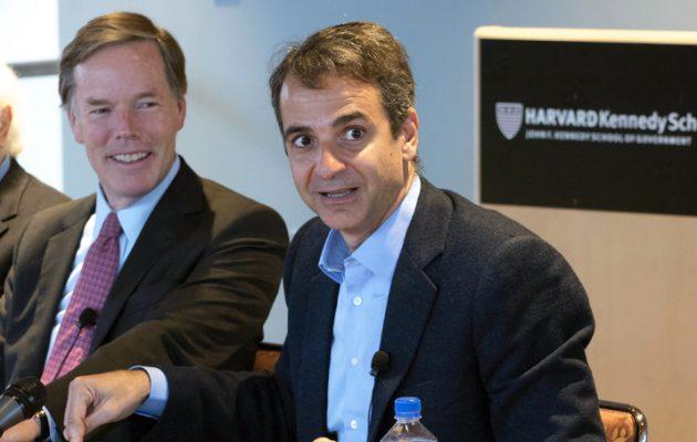 Ο Μητσοτάκης «καταπίνει» Άδωνι αλλά λέει λαϊκιστές Podemos, Κόρμπιν δίπλα στη Λεπέν