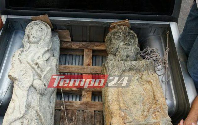 Αυτό ήταν το πηγάδι  «κρυψώνα» των αρχαιοκάπηλων στη Νεμέα (φωτο)