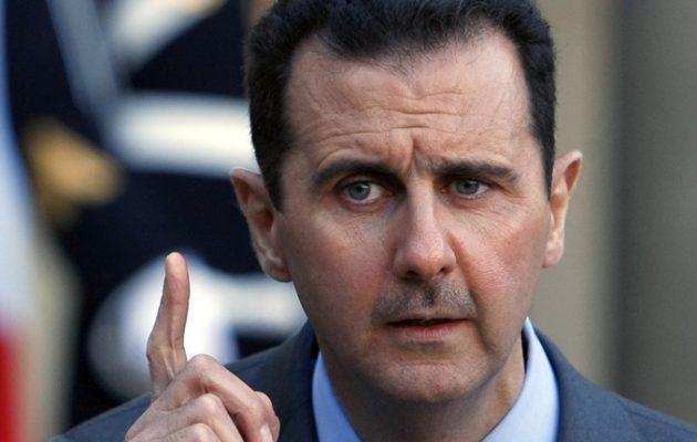 Η Ιερουσαλήμ θα γίνει πρωτεύουσα ενός παλαιστινιακού κράτους λέει ο Άσαντ της Συρίας