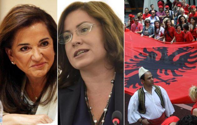 """Έτσι """"στήθηκε"""" η ανθελληνική απάντηση Χαν για τους Τσάμηδες – Έκθετες Μπακογιάννη-Σπυράκη"""