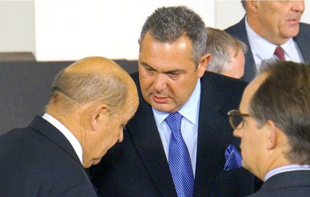Καμμένος προς Τούρκους: Το ΝΑΤΟ δεν φεύγει από το Αιγαίο