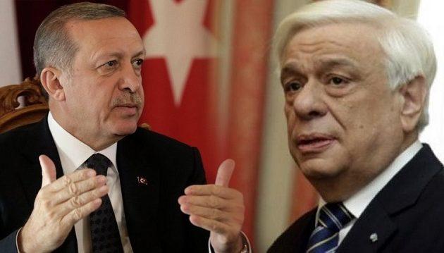 Παυλόπουλος σε Ερντογάν: «Θα έχεις κυρώσεις αν παραβείς τη Συνθήκη της Λωζάνης»