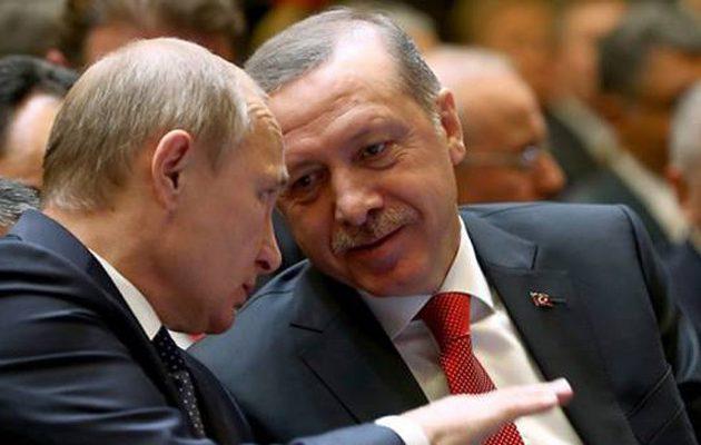 Στις 29 Σεπτεμβρίου θα συναντηθούν Ερντογάν-Πούτιν στο Σότσι