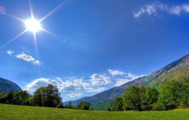 Καλός ο καιρός την Παρασκευή – Μέχρι τους 21 βαθμούς Κελσίου το θερμόμετρο