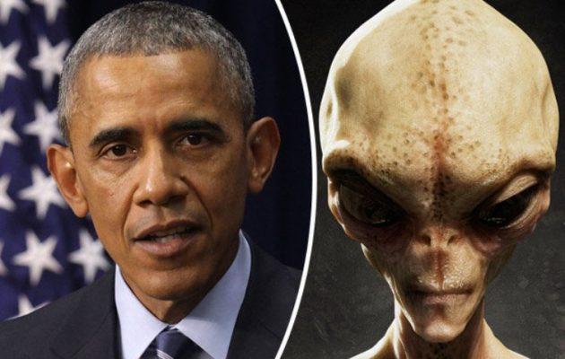 Ο Ομπάμα θα αποκαλύψει την αλήθεια για τους εξωγήινους αρχές Ιανουαρίου 2017;