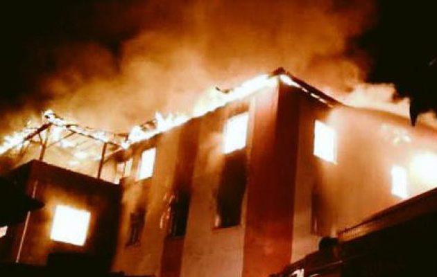 Τουρκία: Φονική πυρκαγιά με πολλούς νεκρούς σε μαθητική εστία στα Άδανα