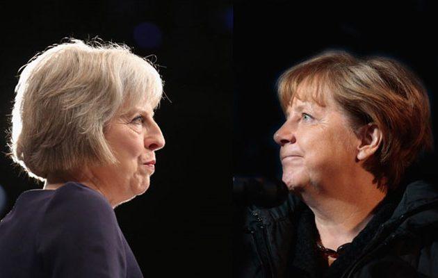 Συνάντηση Μέι – Μέρκελ στο Βερολίνο με φόντο το Brexit