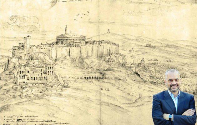 Προκαλεί ο Ράμα: Η Αθήνα αλβανική – Την Ακρόπολη έσωσε ένας Αλβανός