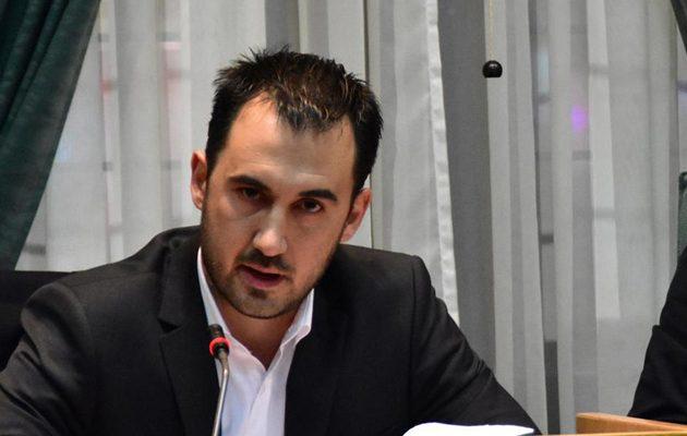 Αλ. Χαρίτσης: Η κυβέρνηση προσπαθεί να συνδέσει τον κοροναϊό με το προσφυγικό