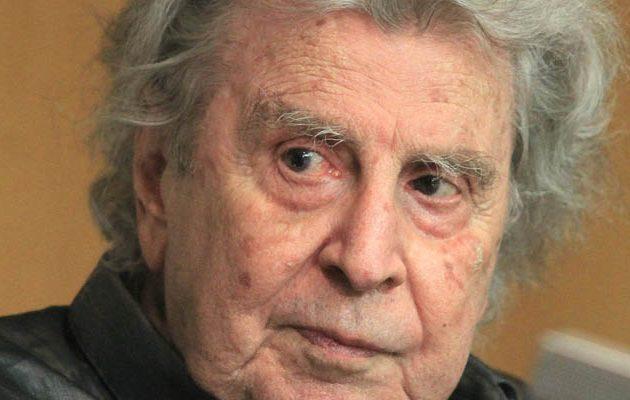 Στο νοσοκομείο ο 94χρονος Μίκης Θεοδωράκης