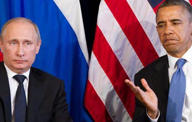 Ο Ομπάμα «επιτίθεται»: Απέλασε 35 Ρώσους ως «μυστικούς πράκτορες» υπέρ του Τραμπ