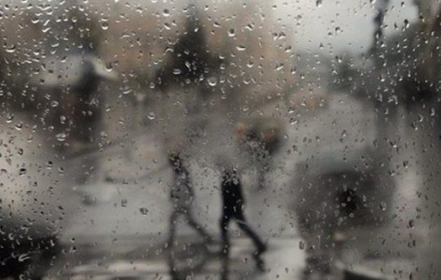 Χειμωνιάτικος καιρός με χιονόνερο και χαμηλές θερμοκρασίες