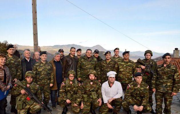 Αυστηρό μήνυμα Καμμένου σε Τουρκία και Αλβανία από φυλάκιο στην Ήπειρο