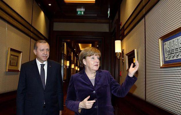 Τι ζήτησε ο Ερντογάν από την Μέρκελ στη τηλεφωνική τους επικοινωνία