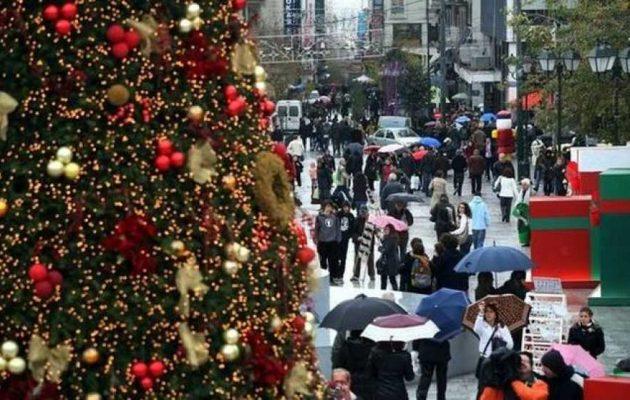 Ανοιχτά αύριο Κυριακή τα καταστήματα – Το εορταστικό ωράριο των Χριστουγέννων