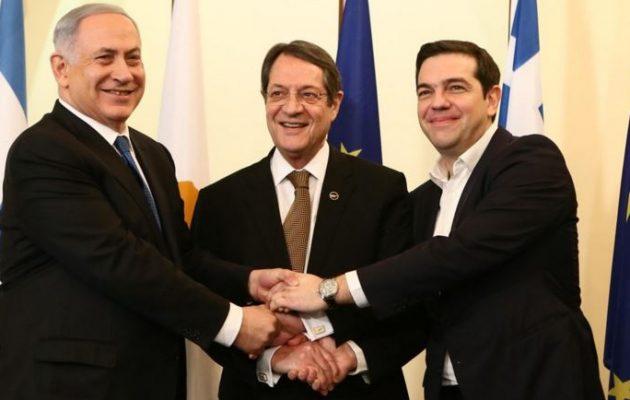 Στην «Ιερή Συμμαχία» Ελλάδας, Κύπρου, Ισραήλ προστίθενται και οι ΗΠΑ – Τετραμερής στα Ιεροσόλυμα