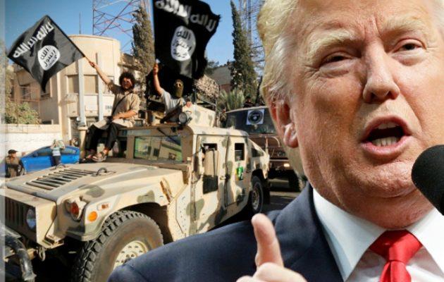 Ντόναλντ Τραμπ: Το Ισλαμικό Κράτος «είναι αποτυχημένοι και θα είναι πάντα αποτυχημένοι»