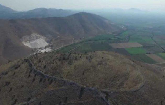 """""""Χαμένη"""" αρχαία πόλη ανακαλύφθηκε στη Θεσσαλία (φωτο)"""