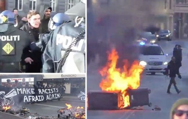 Επεισόδια στην Κοπεγχάγη μεταξύ αντιεξουσιαστών και Αστυνομίας (βίντεο)