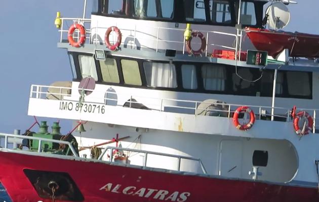 Τουρκικό πλοίο προσέκρουσε σε βράχια ανοιχτά της Κω