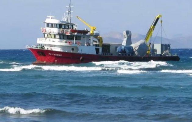 Τι έδειξαν οι έλεγχοι στο τουρκικό πλοίο που προσάραξε στην Κω