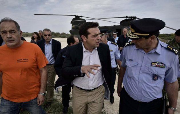 Μέτρα για τη νησιωτική πολιτική ανακοινώνει ο Τσίπρας στη Νίσυρο
